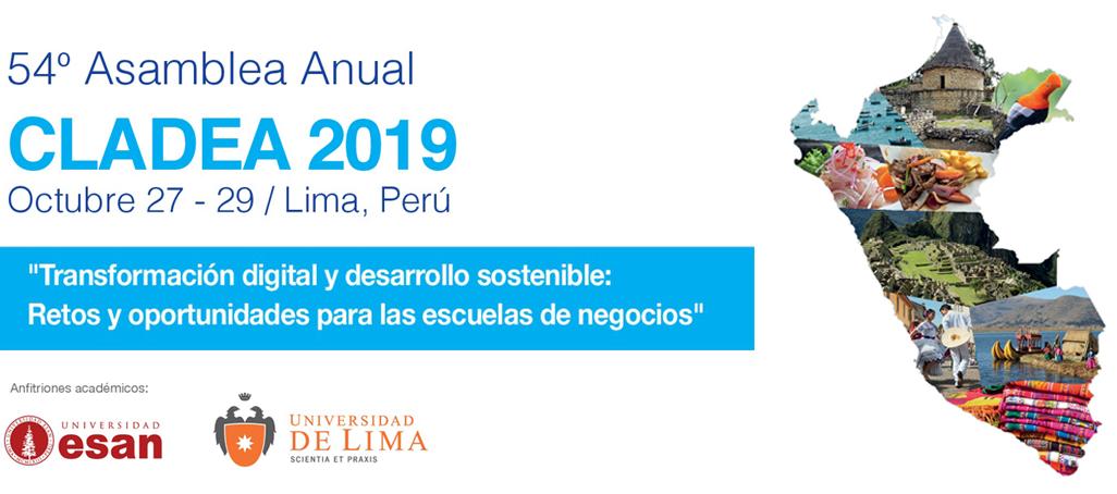 Deadline – 54ª Asamblea Anual Cladea 2019